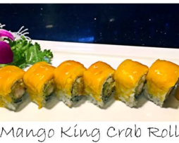 Mango King Crab Roll